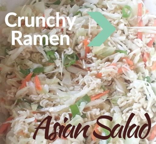 Crunchy Ramen Asian Salad