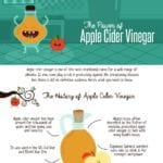 Apple Cider Vinegar and Health Benefits Infographic