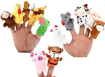 Zodiac finger puppets new