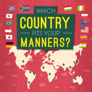 Which Country Fits Your Manners Flowchart
