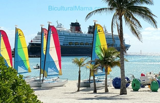 BM Disney Cruise Beach with Wonder Ship