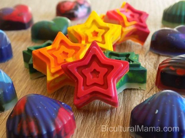 Bicultural Mama Crayon Upcycled Cover