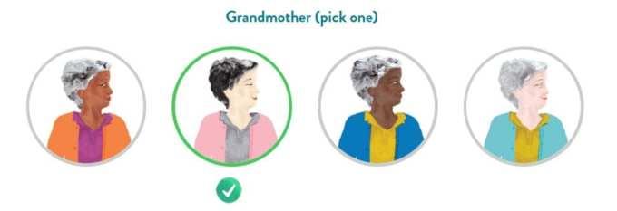 multiracial grandmother