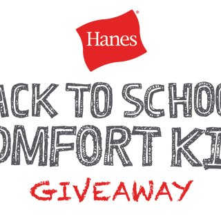 Back to School $50 Visa Gift Card and Clothes from Hanes