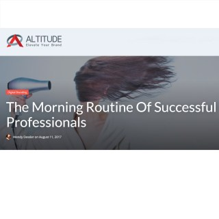Morning Routines of Successful Professionals: Bicultural Mama Quoted