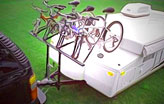 a frame tongue mount bike rack pros
