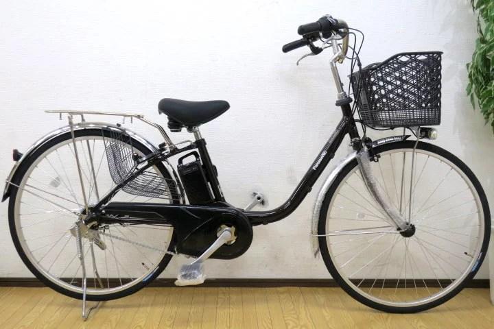 未使用 Panasonic ビビYX 電動アシスト自転車 BE-3ELF63 8Ah/内装3段 今月購入