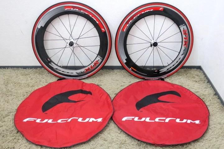 美品 Fulcrum フルクラム Red Wind XLR 80mm 前後セット タイヤ付き 10速対応
