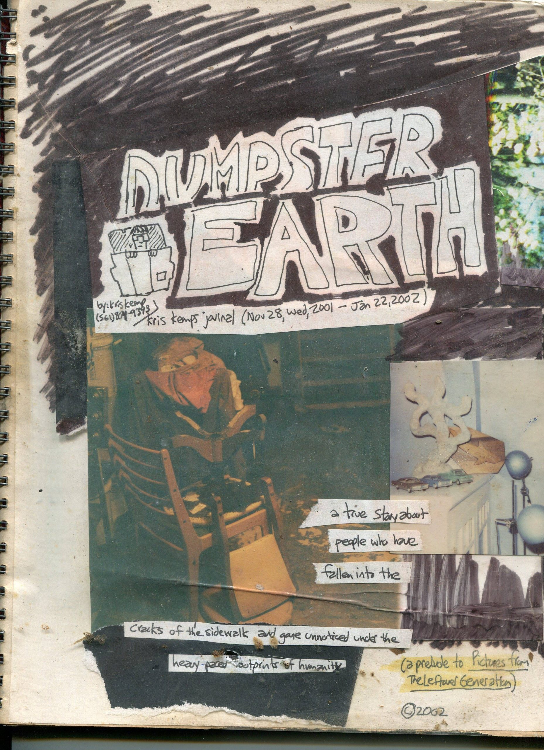 dumpster earth cover