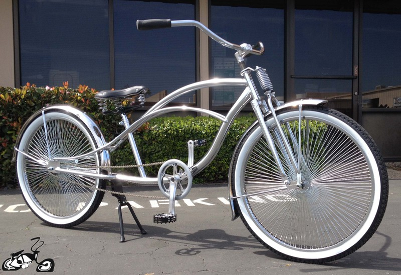 Stretch Lowrider Beach Cruiser Trike