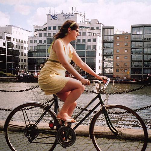 Jamey in London, on www.bicyclefixation.com