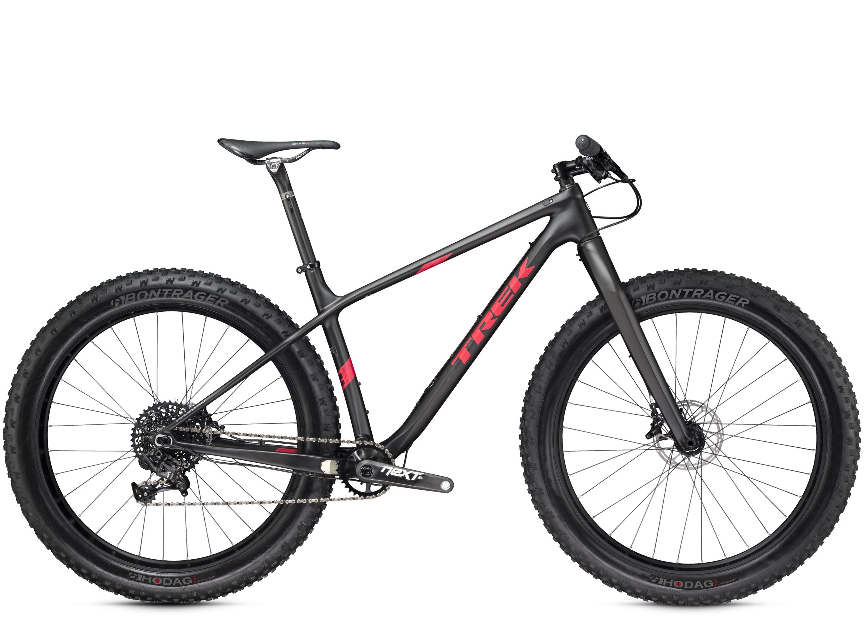 Trek updates its Farley fat bike with carbon models, 197mm