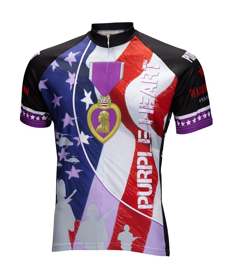 Purple Heart Jersey Offered To Wounded Veterans In The Industry Bicycle Retailer And Industry News