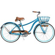26″ Huffy Cape Cod Women's Cruiser Bike, Metallic Aqua