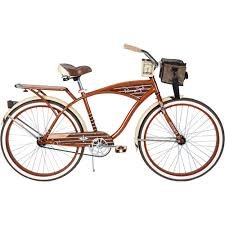 26″ Huffy Panama Jack Men's Cruiser Bike, Root Beer