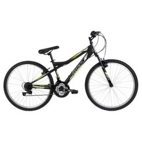 Huffy Bicycle Company Men's 26344 Tundra Bike, Matte Black, 26-Inch