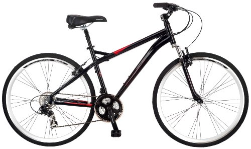 Schwinn Men's Siro 700c Hybrid Bicycle, Black, 18-Inch Frame