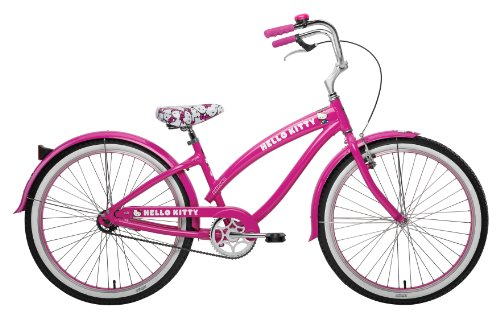 Nirve Hello Kitty Classic Bicycle (Pink, 26-Inch)