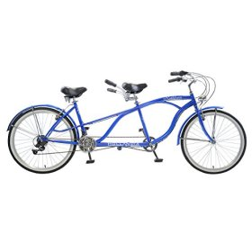Hollandia Rathbun Tandem Bicycle, Blue, (Wheel Size 26-Inch)