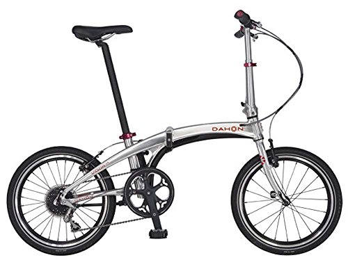 Dahon Vigor P9 Folding Bike 20-Inch Wheels With a 9 Speed Drivetrain, Polished