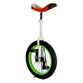 Koxx Troll Trials Unicycle, White, 22.86cm/20-Inch