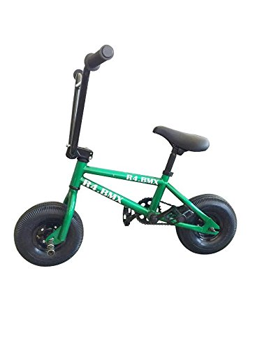 R4 Green Complete Pro Mini Bmx Bicycle Trick Jump Freestyle With Pegs, USA
