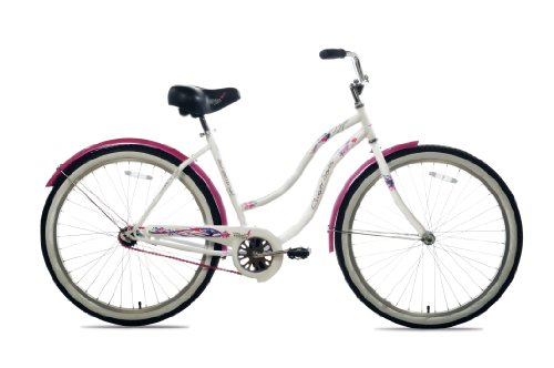 Susan G Komen Single Speed Beach Cruiser Bike (26-Inch Wheels)