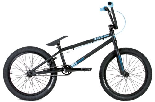 KHE Bikes Root 360 BMX Bike, Black, 20.6-Inch