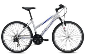 SE Bikes Adventure 21-Speed V ST Hard Tail Mountain Bicycle, Silver, 17 Inch