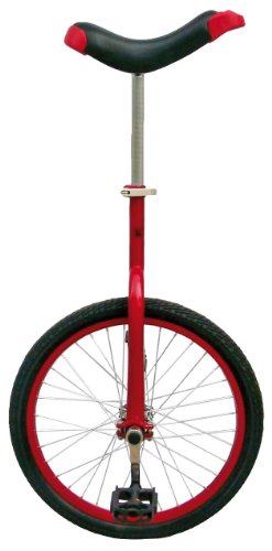 Fun Red 20″ Unicycle with Alloy Rim