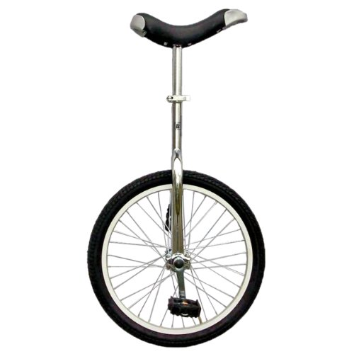 Fun Chrome 20″ Unicycle with Alloy Rim