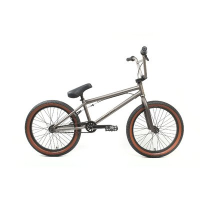 KHE Root 180 Freestyle BMX Bicycle, 20 inch wheels, 20.4 inch frame, Grey