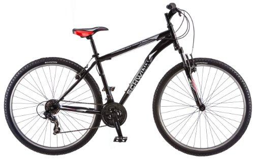 Schwinn High Timber Mountain Bicycle, Matte Black, 29-Inch