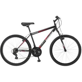 26″ wheel Roadmaster Granite Peak Men's Mountain Bike, Black