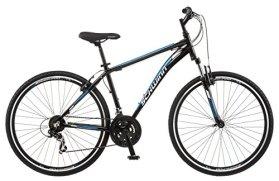 Schwinn GTX 1.0 700c Men's Dual 18 Sport Bike, 18-Inch/Medium, Black