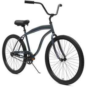 Critical Cycles Men's Beach Cruiser 1-Speed Bike