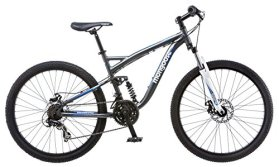 Mongoose Men's Detour Mountain Bike, 18-Inch/Medium