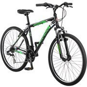 26″ Schwinn Sidewinder Men's Mountain Bike, Matte Black/Green by schwinn