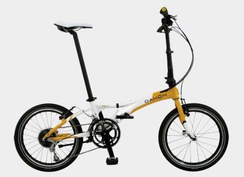 "Dahon Visc P18 Folding Bicycle 20"", Tangerine"