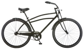 Schwinn Men's Swindler Cruiser Bicycle, 18″/Medium, Black