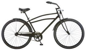 Schwinn Men's Swindler Cruiser Bicycle, 18″/Medium, Black