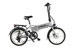 2016 Enzo eBike Electric Folding Bike Lightweight Electric Bicycle 350W 36V8.8ah +FREE GIFT 16000 mAh Solar Power Bank for cell phone