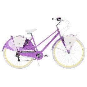 Huffy Bicycle Women's 700C Supreme Modern Cruiser Bike, 26″/Large