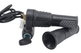 Half Twist Ebike Throttle with electric lock
