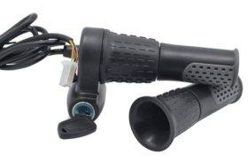 Half Twist Ebike Throttle with electric lock
