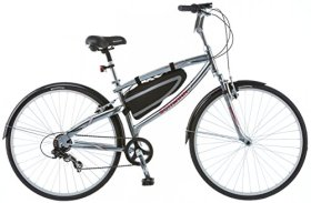 Schwinn Men's S3052TG 700c Skyliner Hybrid Bike, Grey, 18″/Medium