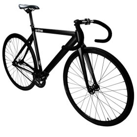 Zycle Fix Prime Alloy Track Fixed Gear Bike – Matte Black