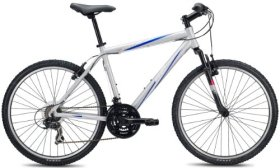 SE Bikes Adventure 21-Speed V Hard Tail Mountain Bicycle, Matte Silver, 19 Inch