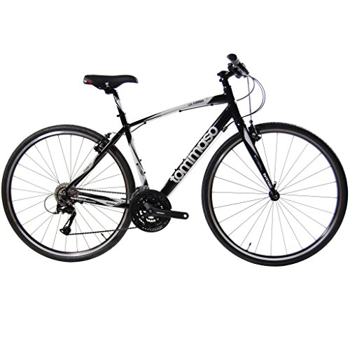 Tommaso La Forma Lightweight Aluminum Fitness / Hybrid Bike, Shimano Equipped