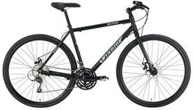 Windsor Rapide 700C Disc Shimano 24 Speed Disc Brake Carbon Fork Super Hybrid Bicycle Bike matt black 20″ frame